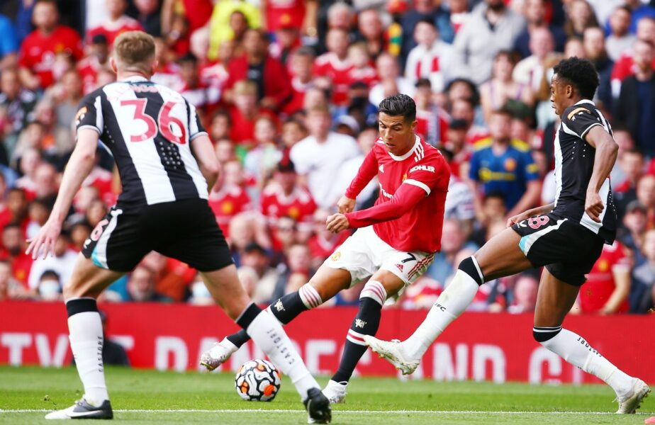 """URIAŞ! Cristiano Ronaldo a revenit cu gol la Manchester United. A deschis scorul în partida cu Newcastle. Show total pe Old Trafford. Fanii """"diavolilor"""" sunt în delir"""