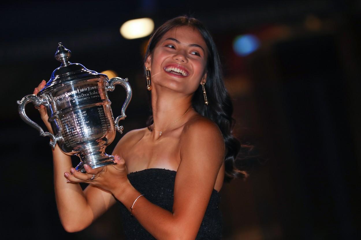 Emma Răducanu, campioană la US Open
