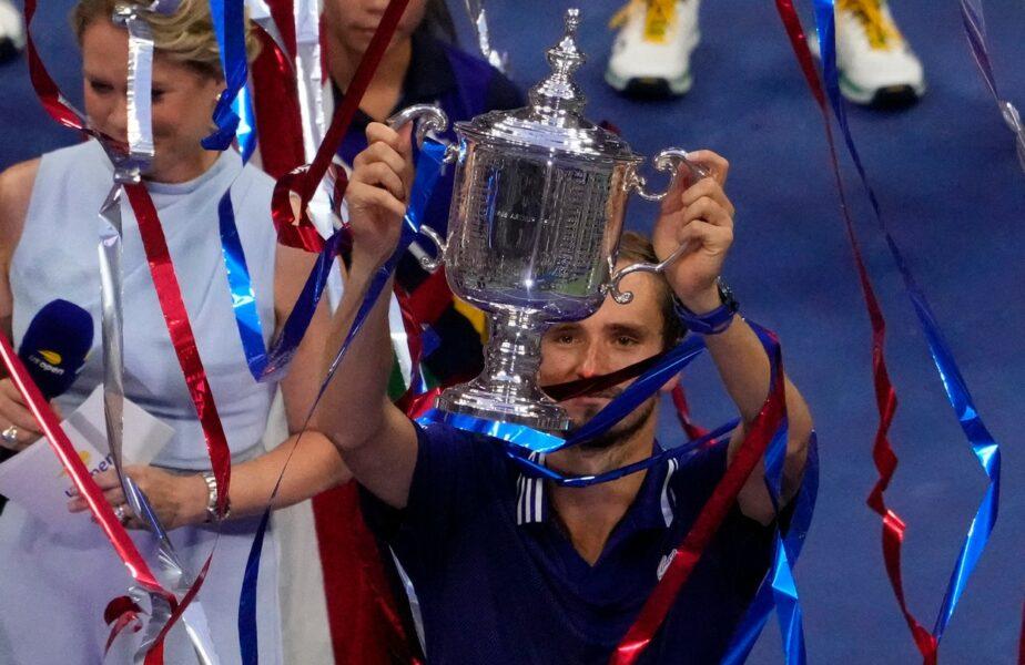 US Open 2021 | Novak Djokovic – Daniil Medvedev 4-6, 4-6, 4-6. FABULOS! Rusul e campion la US Open, după ce a jucat monstruos și i-a spulberat visul lui Nole de a rescrie istoria tenisului