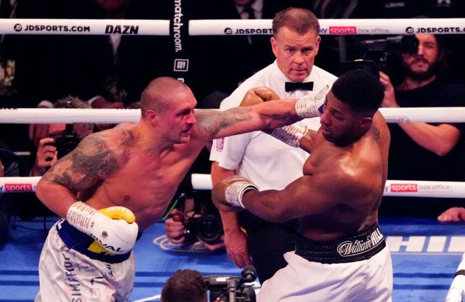 Joshua fost învins iar! Usyk este noul rege al boxului la categoria grea