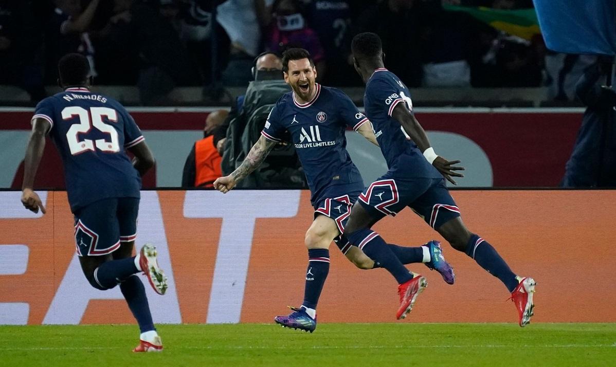 PSG bucurie gol