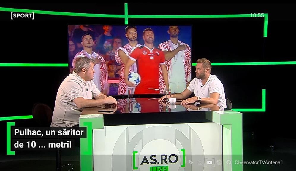 Cristi Pulhac a fost invitat la AS.ro LIVE
