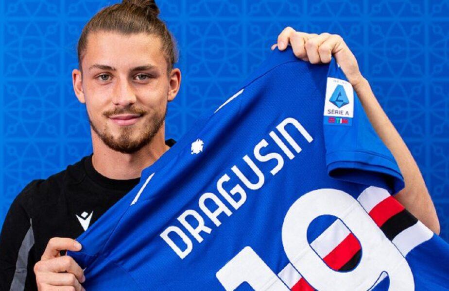 """Radu Drăguşin, prezentat oficial la Sampdoria: """"Am învăţat de la Bonucci și Chiellini!"""" Ce le-a promis internaţionalul U21 fanilor"""
