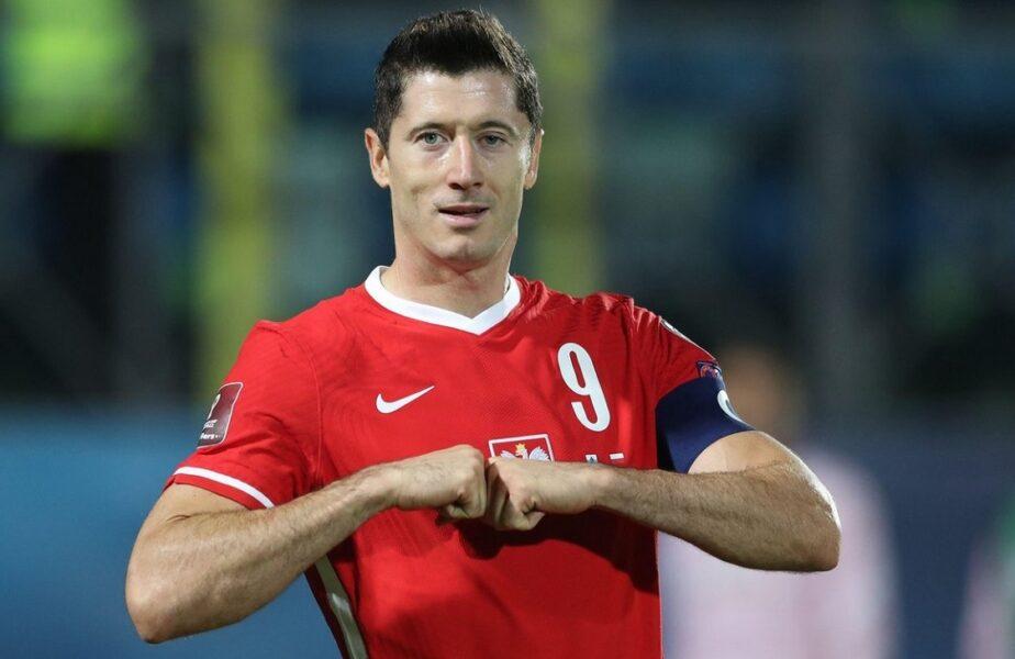 Robert Lewandowski, aşteptat să încânte cu Anglia