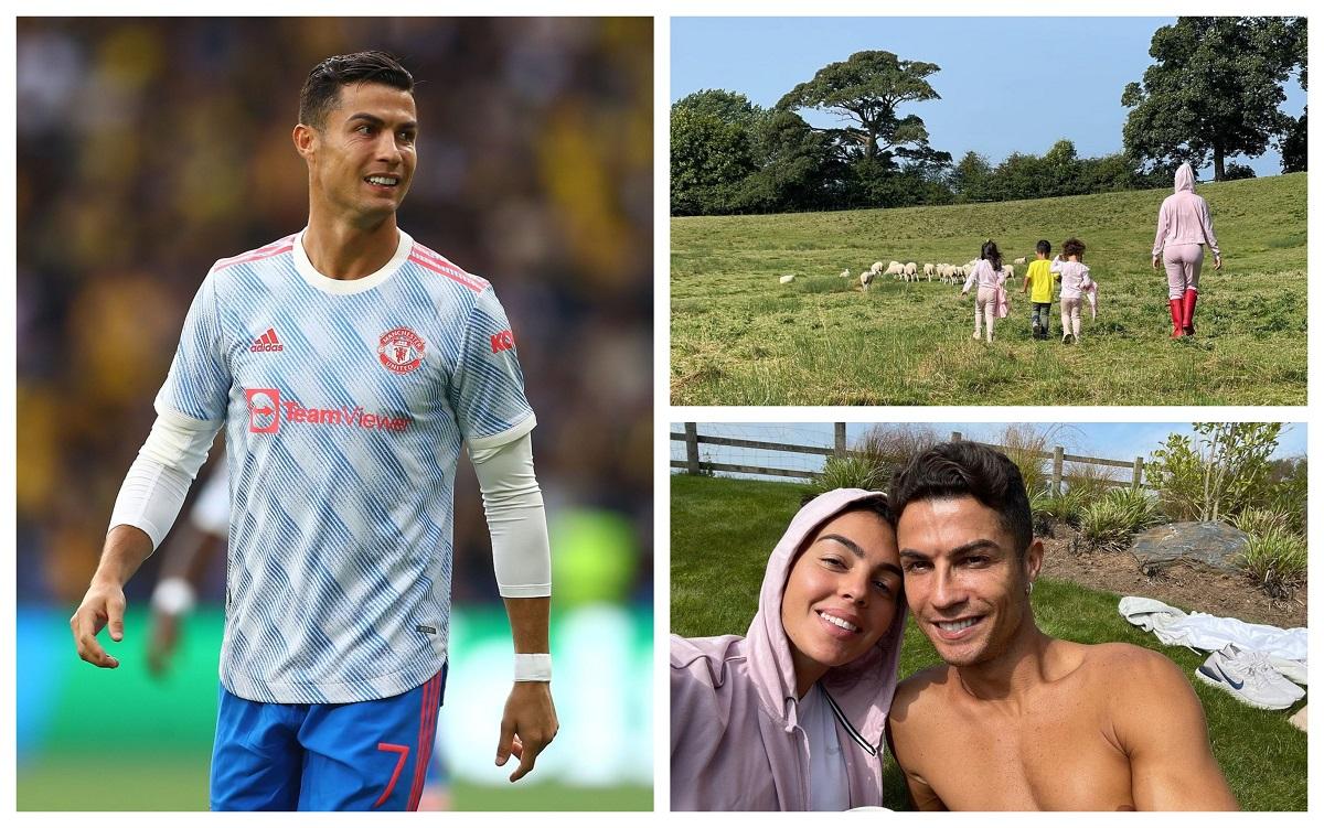 Cristiano Ronaldo s-a mutat din cauza oilor