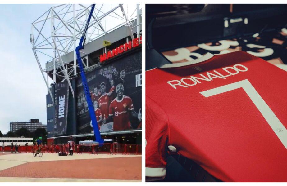 """""""Efectul Cristiano Ronaldo!"""". Cozi uriaşe la Old Trafford! Fanii lui Manchester United s-au îngrămădit să îşi cumpere un tricou cu starul portughez"""