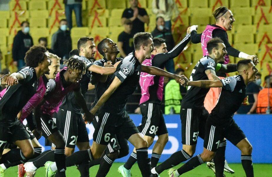 """Sheriff Tiraspol a scris istorie în UEFA Champions League! Prima victorie pentru o echipă din Republica Moldova în """"liga stelelor"""""""