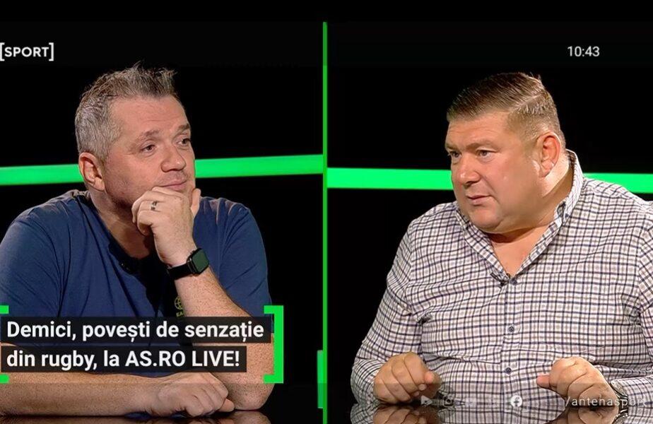 """Ștefan Demici """"botezat"""" de """"greii"""" din vestiarul lui Dinamo! """"Nu aveam loc în vestiar, ne puneam hainele pe cadă!"""""""