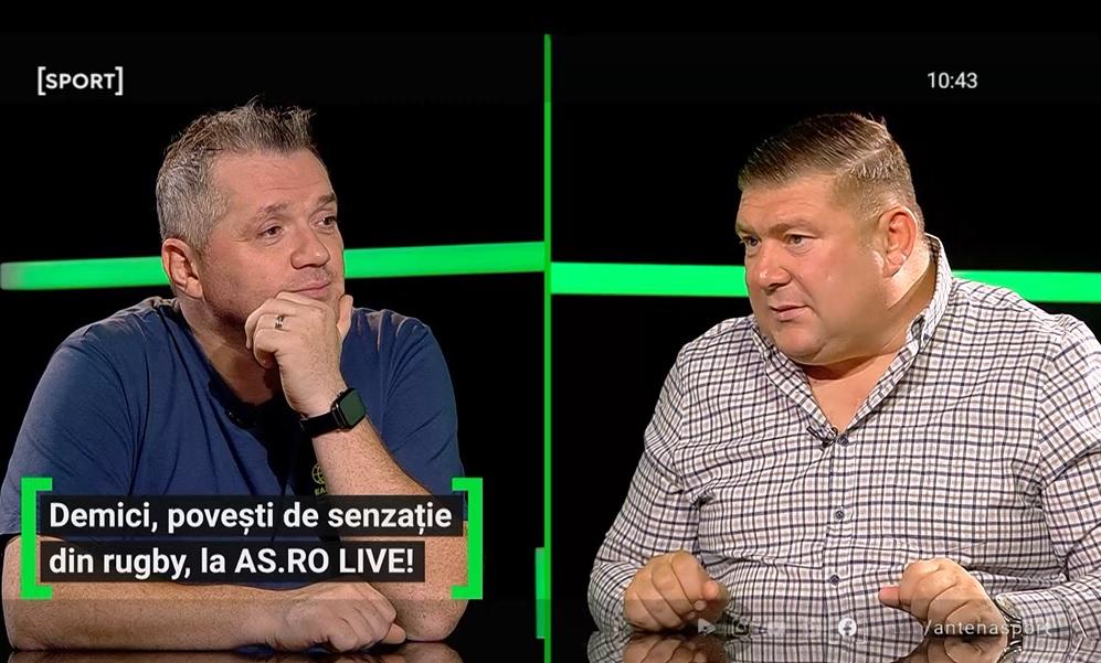 Ștefan Demici a fost invitat la AS.ro LIVE