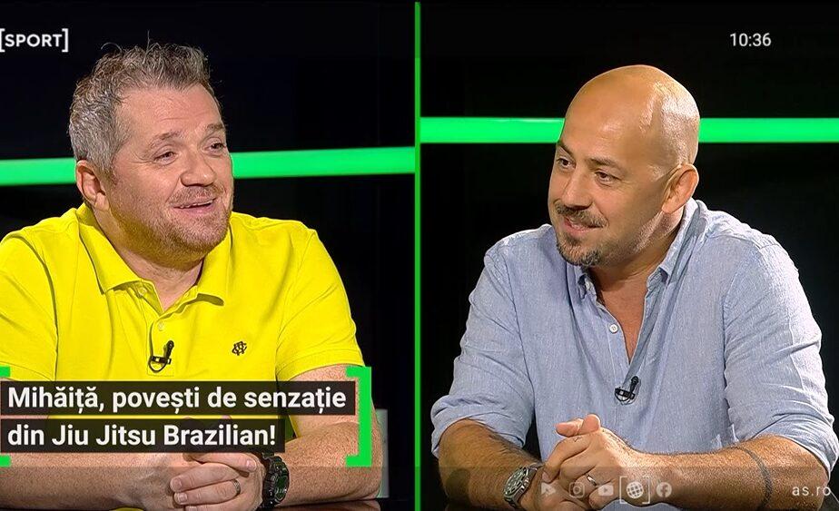 """Tudor Mihăiță, omul care a adus Jiu Jitsu brazilian în România, dezvăluiri de senzație: """"Am învățat după poze!"""" Cum a reacționat George Mihăiță când a aflat"""
