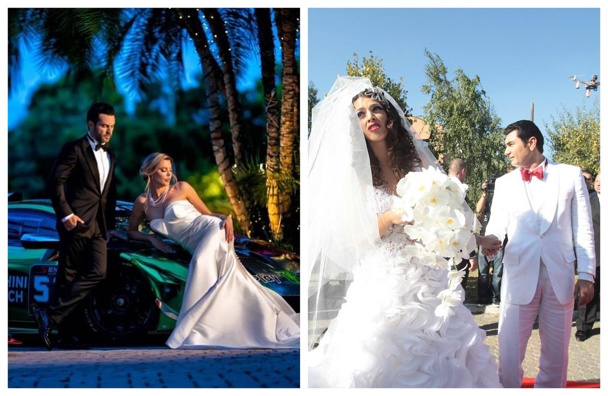 Alina Vidican, nuntă de vis cu Claude Senhoreti