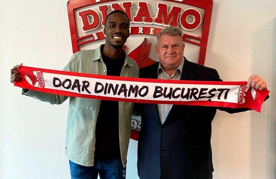 OFICIAL! Michel Espinosa a semnat cu Dinamo. Detaliile contractului