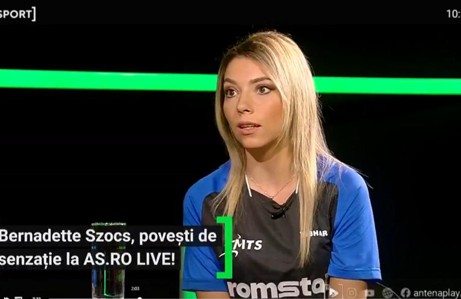 """Bernadette Szocs a rupt tăcerea! Cum a ajuns la tenis de masă dubla campioană europeană: """"Eram încăpăţânată, voiam la masă din prima"""""""