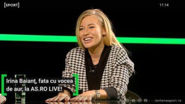"""""""La Donna E Mobile!"""" Irina Baianț, show de zile mari la AS.ro LIVE! Soprana a fredonat piese celebre alături de Cătălin Oprișan"""