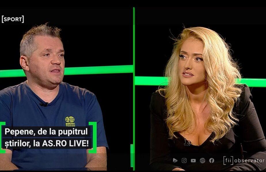 Iuliana Pepene a fost invitată la AS.ro LIVE