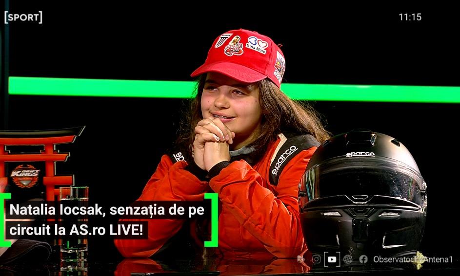 Natalia Iocsak a fost invitată la AS.ro LIVE