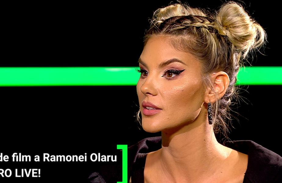 """Cea mai sexy fană a """"câinilor""""! Ramona Olaru, moment de zile mari la AS.ro LIVE! A cântat imnul celor de la Dinamo"""