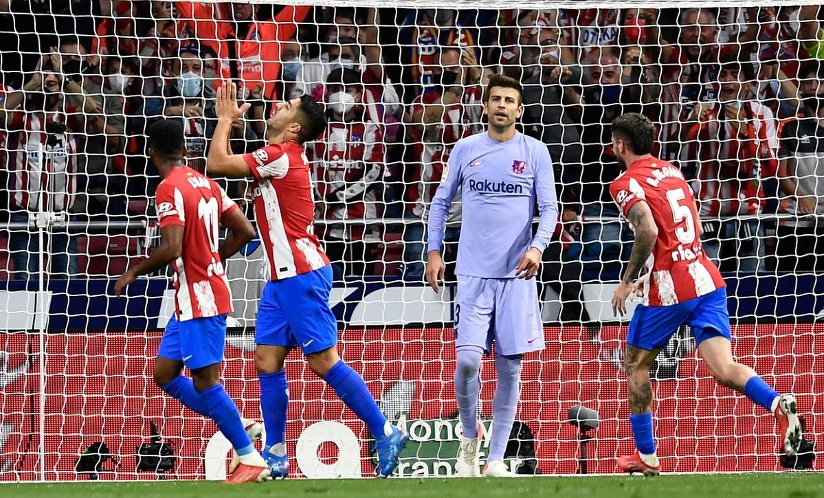 Atletico Madrid - Barcelona 2-0