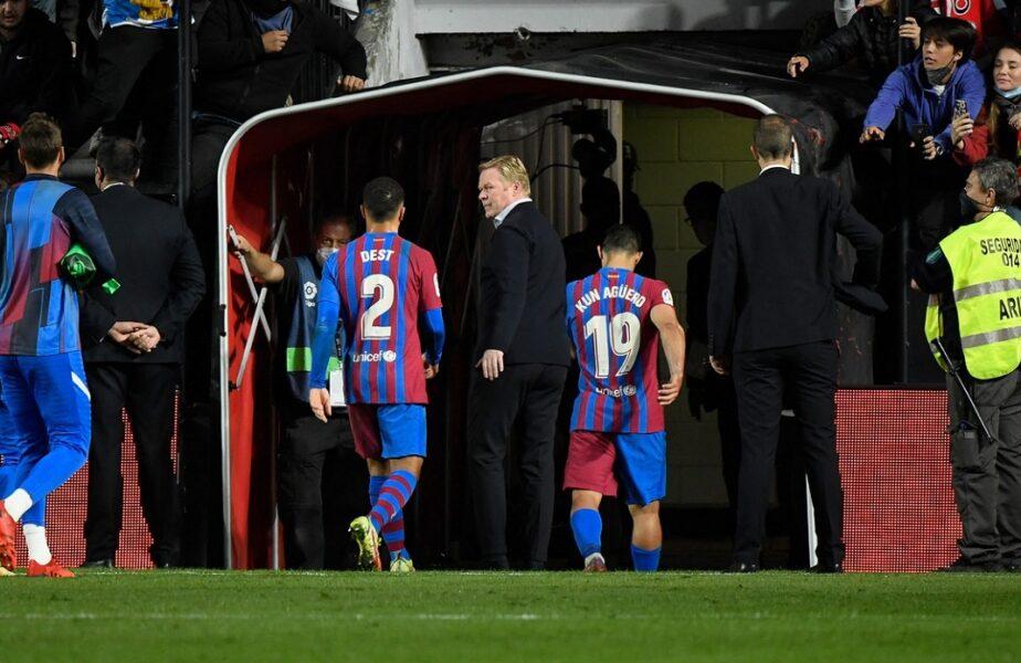 Rayo Vallecano – Barcelona 1-0. Umilință după umilință pentru catalani! Ronald Koeman bate toate recordurile negative