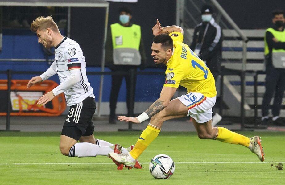 Andrei Burcă s-a refăcut după accientarea din meciul cu Germania