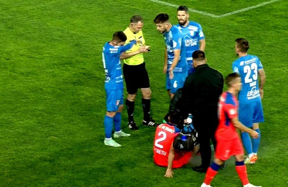 Chindia Târgovişte – FCSB   Meci nebun pe Ilie Oană! Elevii lui Emil Săndoi au lovit bara, iar la faza următoare au rămas în inferioritate numerică