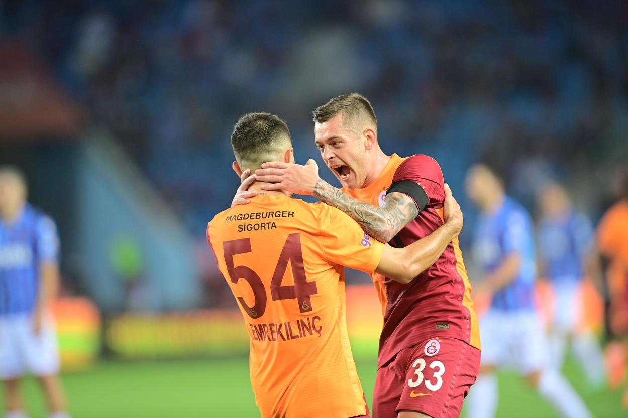 Alex Cicâldău a deschis scorul în derby-ul Beșiktaș - Galatasaray