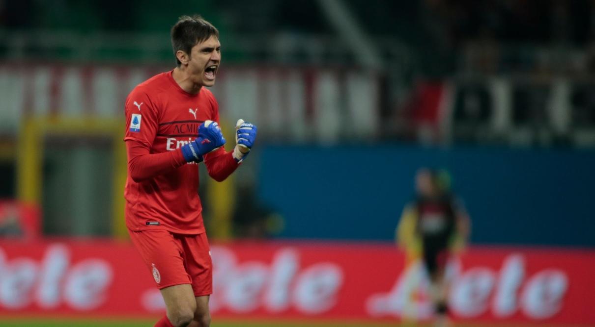Reacţia lui Ciprian Tătăruşanu după ce a închis poarta în AC Milan - Torino 1-0