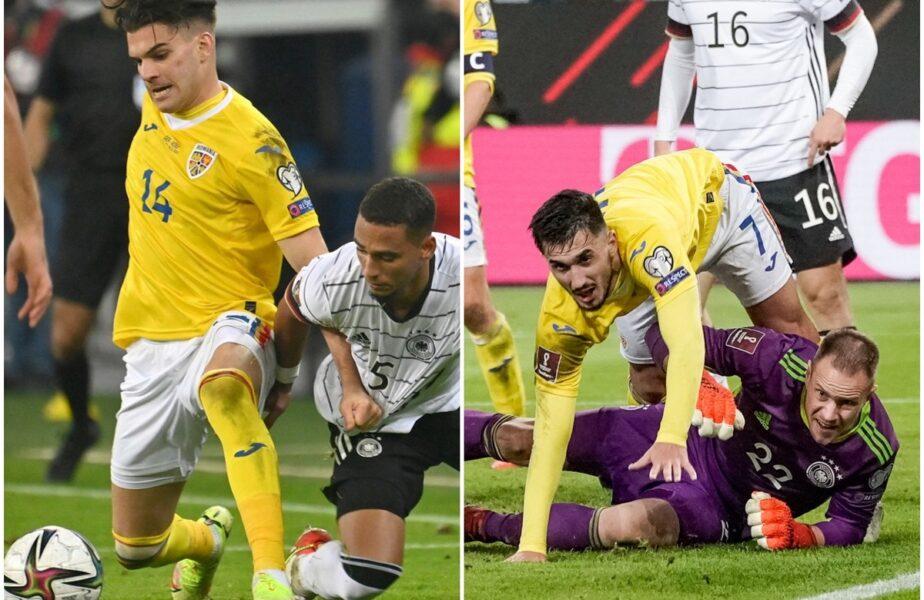 """""""Tricolorii"""", luați la țintă după Germania - România 2-1"""