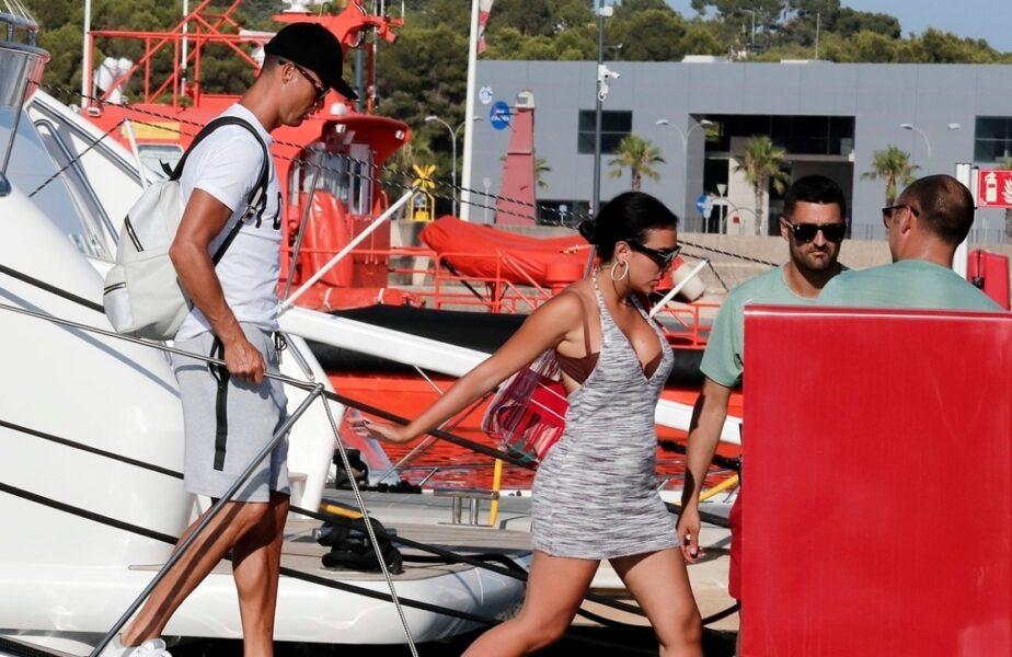 Cristiano Ronaldo şi Georgina Rodriguez