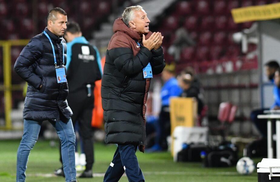 """Dan Petrescu a vorbit despre posibila plecare de la CFR Cluj. """"Nu depinde de mine!"""". L-ar putea înlocui pe Mirel Rădoi. """"Ne ducem în jos cu naționala!"""""""
