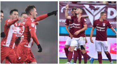Dinamo – Rapid 0-0. Început tare pentru echipa lui Rednic! Dinamoviștii au avut prima ocazie din derby