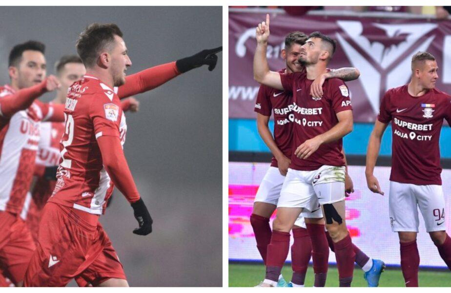"""Dinamo – Rapid 1-1. Super-goluri în derby-ul etapei! """"Câinii"""" sunt blestemați. 10 etape la rând fără victorie pentru dinamoviști"""