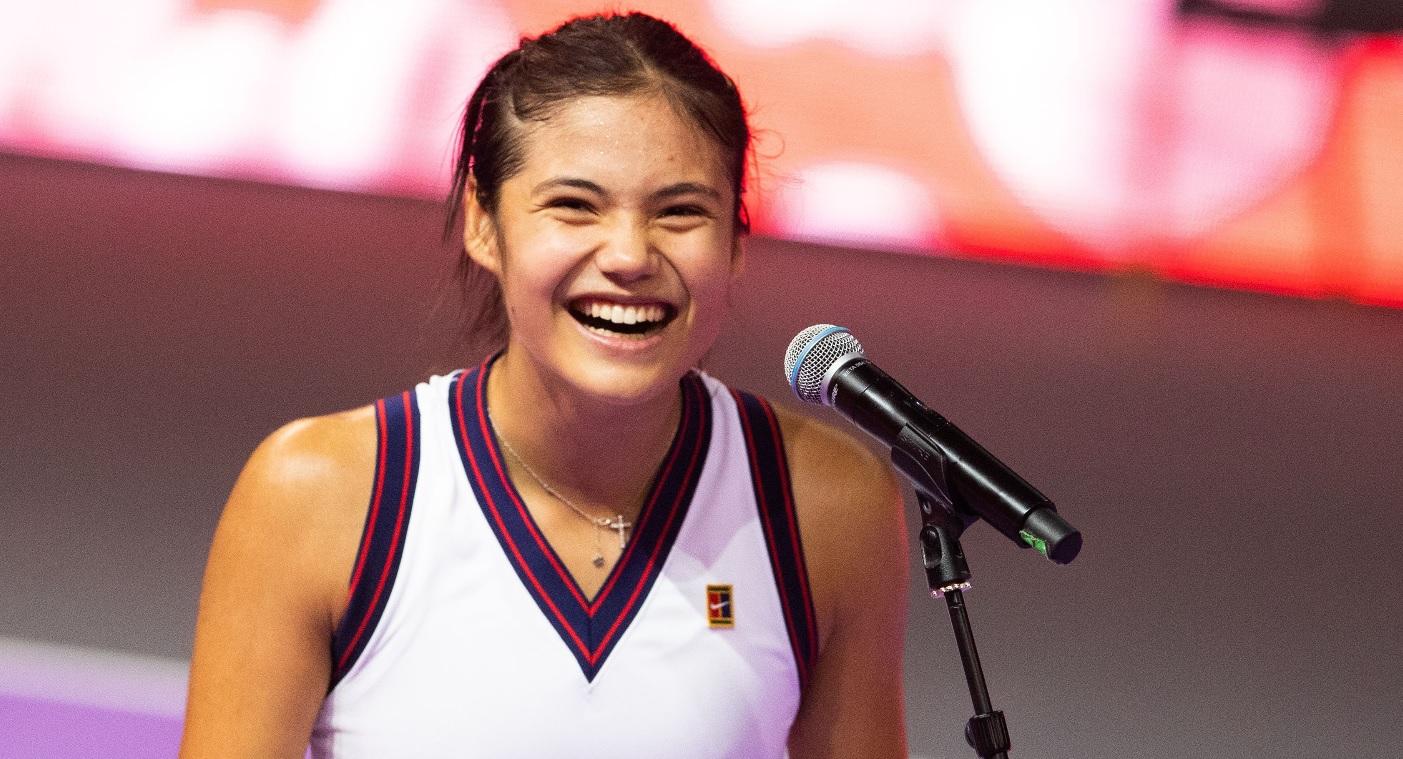 """Emma Răducanu: """"România, te iubesc!"""" Reacţia genială a celor de la WTA"""