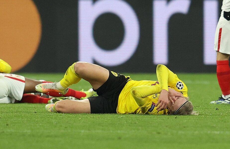 """Erling Haaland trăieşte un adevărat coşmar: """"Nu pot nici să merg!"""" Ultimele informaţii despre starea de sănătate a vedetei lui Dortmund: """"E om, nu o mașinărie!"""""""