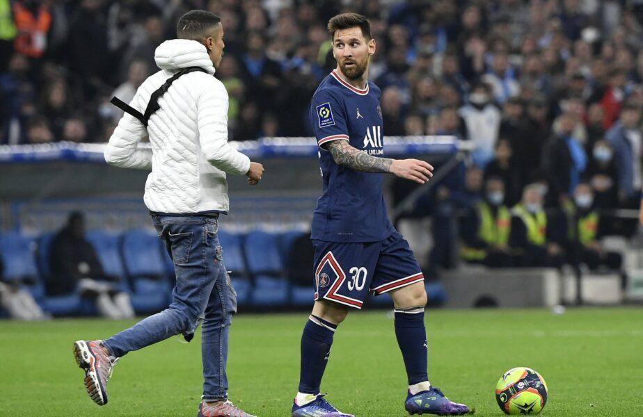 Marseille – PSG 0-0 | Messi Mania continuă și în Franța! Un suporter a pătruns pe teren și a oprit atacul starului argentinian
