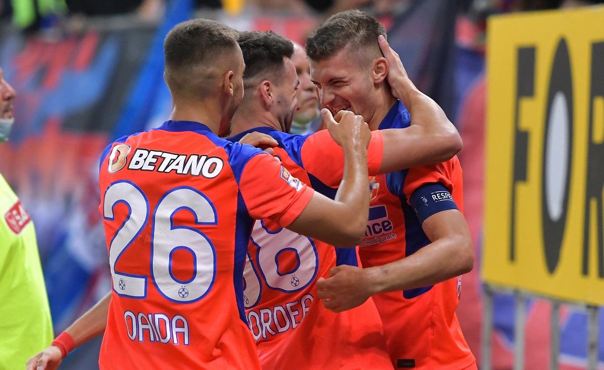 Florin Tănase, se bucură după un gol