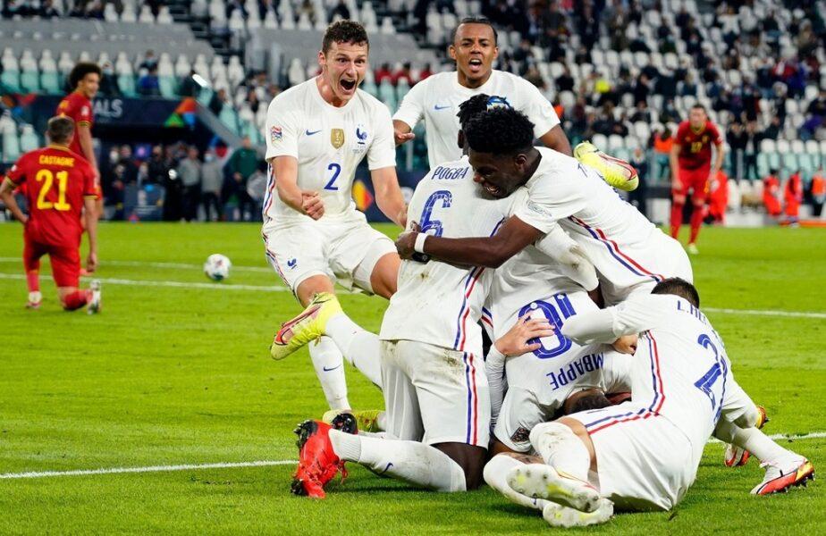 Franța - Spania, marea finală din Liga Națiunilor