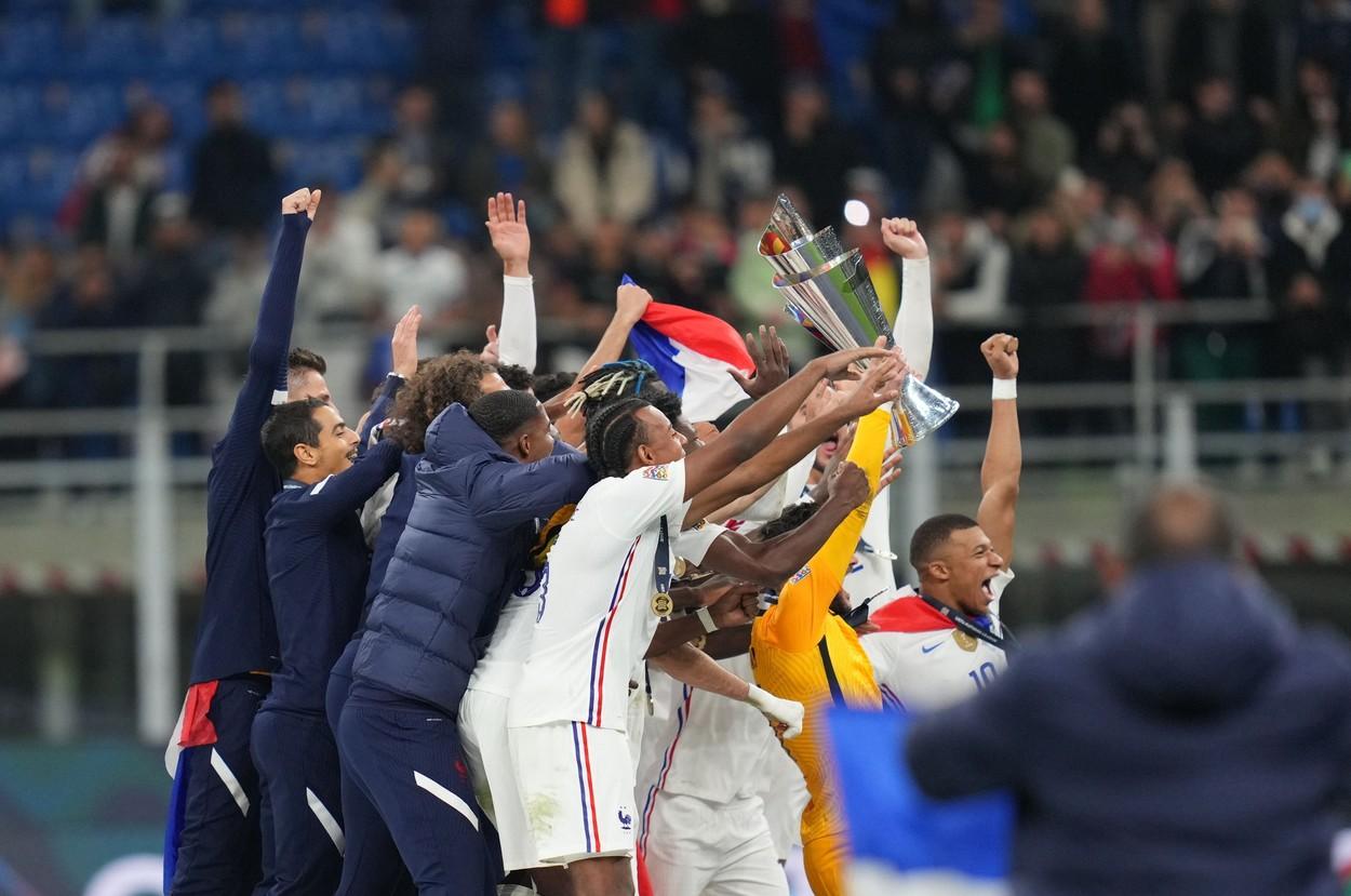 Franța a câștigat Liga Națiunilor