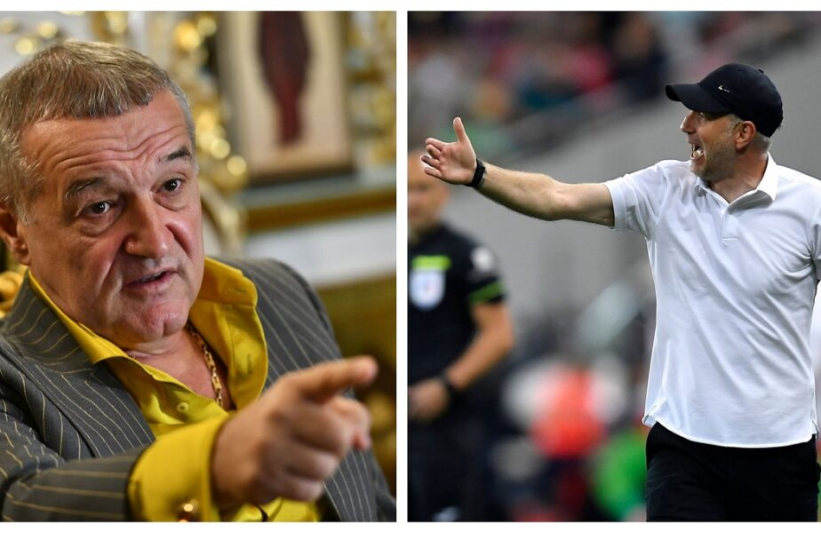 Gigi Becali și Edi Iordănescu s-au contrat pe posesia de la FCSB