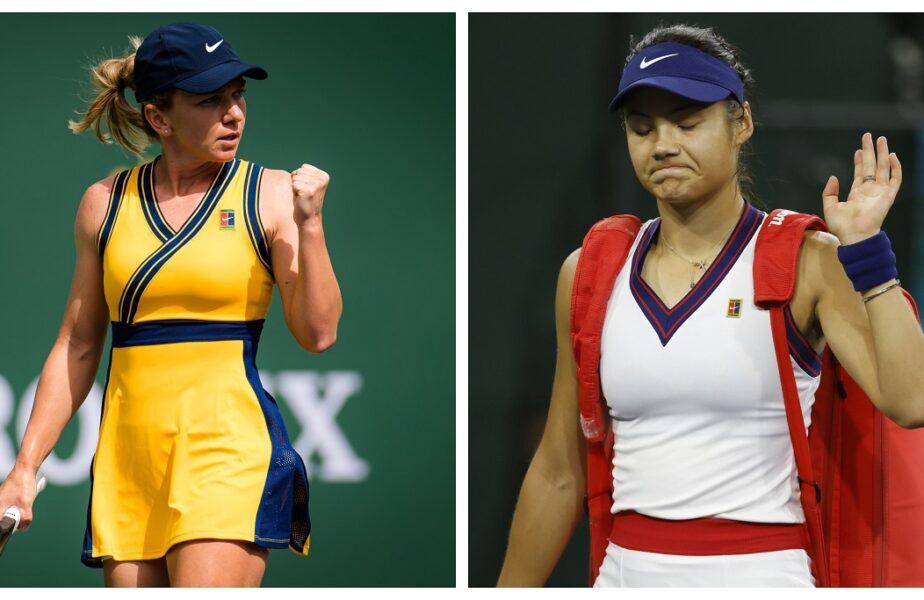 """Simona Halep, semnal de alarmă pentru Emma Răducanu. """"Trebuie să fii foarte atentă!"""". Campioana de la US Open, eliminată prematur de la Indian Wells"""