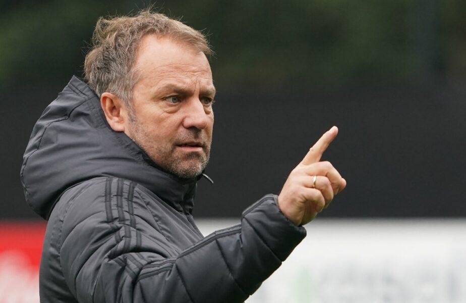 """Germania – România   Hansi Flick nu vrea să ne rupă plasa. """"1-0 ar fi un rezultat pe care l-aș primi cu bucurie"""". Ce spune despre Mirel Rădoi"""