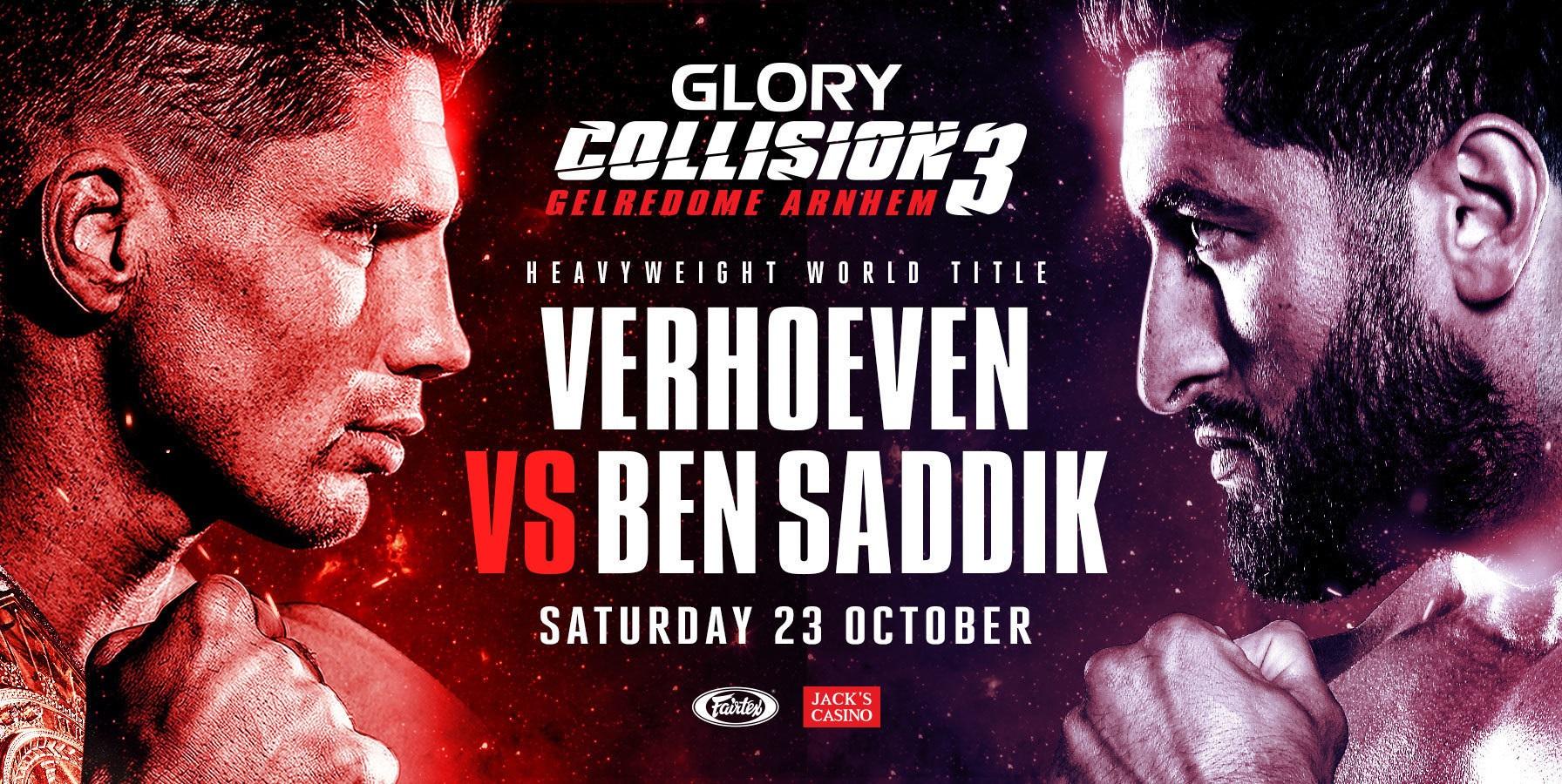 Benny vs Plazibat, sâmbătă în GLORY! Super gală cu Rico, Ben Saddik și Saki