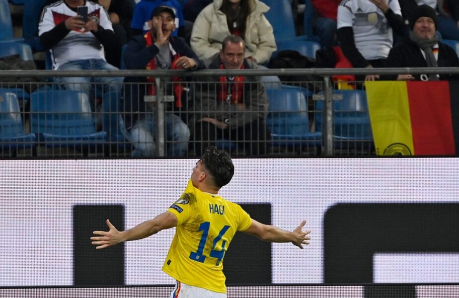 Ianis Hagi, gol magnific în Germania - România