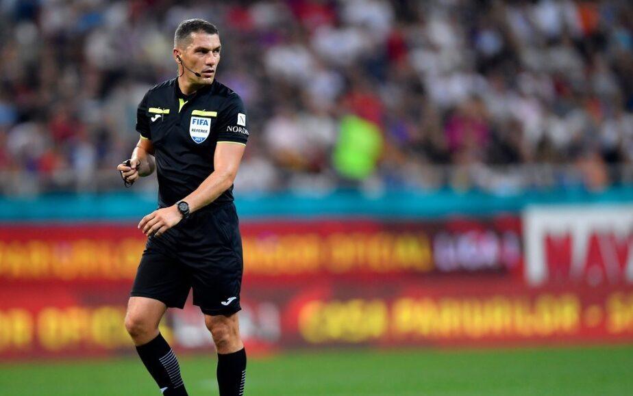 Istvan Kovacs îl arbitrează pe Pep Guardiola. Ce meci spectacol a primit arbitrul român în Liga Campionilor