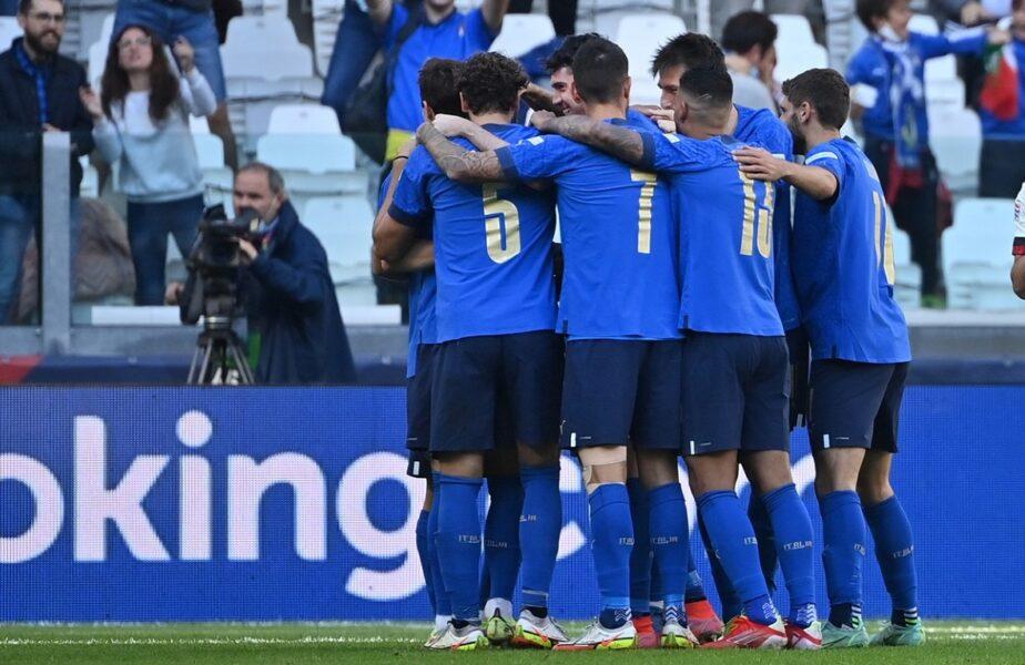 "Italia – Belgia 2-1 | Meci nebun la Torino! ""Squadra Azzura"" a câștigat finala mică din Liga Națiunilor. ""Diavolii roșii"" au lovit bara de trei ori!"