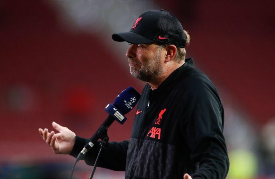 Jurgen Klopp a răbufnit şi a plecat în timpul interviului. Întrebarea care l-a scos din minţi după Atletico Madrid – Liverpool 2-3