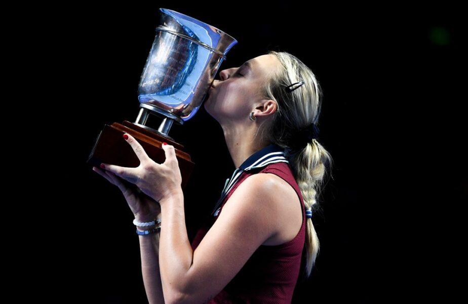 Anett Kontaveit a câștigat Kremlin Cup! Revenire spectaculoasă în finala cu Ekaterina Alexandrova