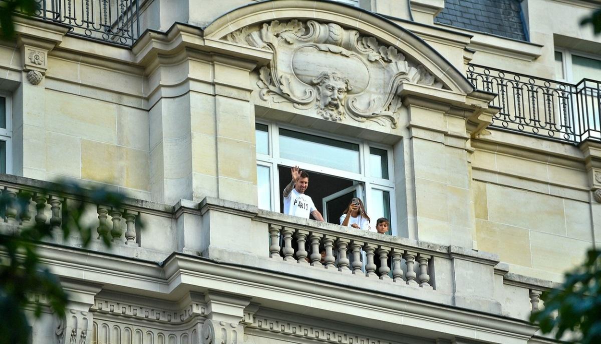 Lionel Messi stă în hotel alături de familie