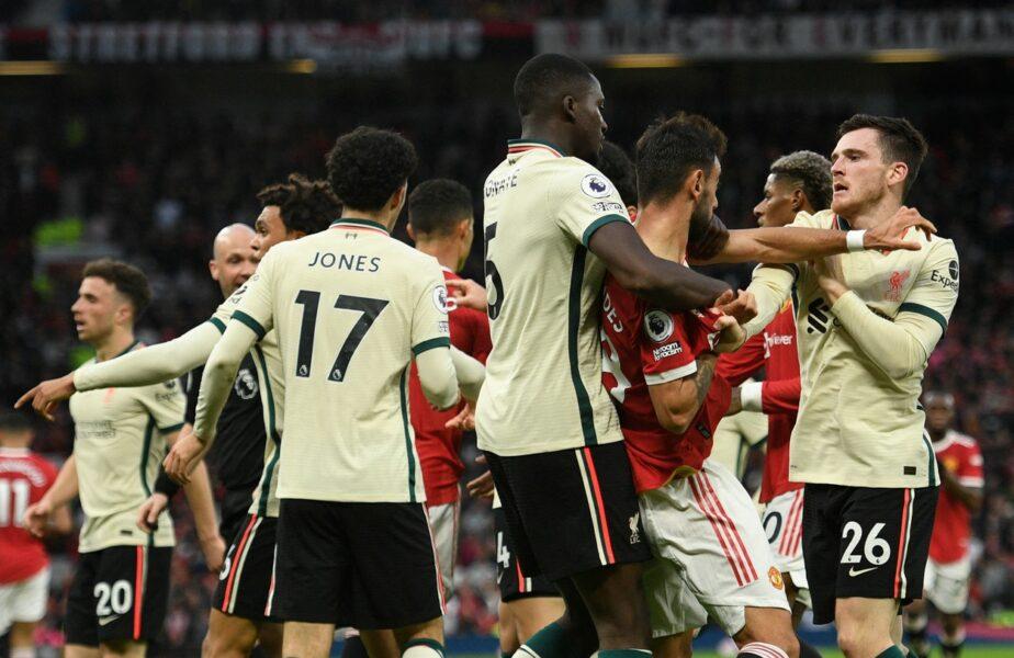 Manchester United – Liverpool 0-5 | Imaginea suferinţei în umilinţa de pe Old Trafford: Sir Alex Ferguson, împietrit în tribună, după golul 5 al cormoranilor. Gest golănesc al lui Ronaldo