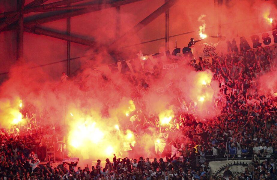 Olympique Marseille – PSG 0-0. Măsuri dure după incidentele din Ligue 1. Pedepse cu închisoarea